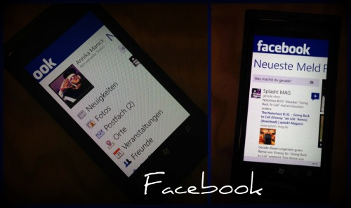 Facebook Mix Nokia Lumia 800 x iPhone 4S (URBAN RMX)