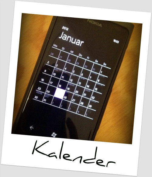 Kalender Nokia Lumia 800 x iPhone 4S (URBAN RMX)