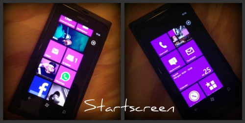 Startscreen Mix Nokia Lumia 800 x iPhone 4S (URBAN RMX)