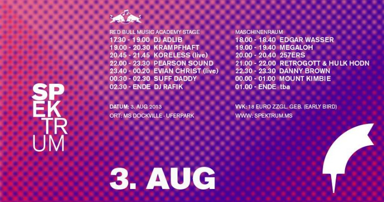 SPEKTRUM Festival 2013