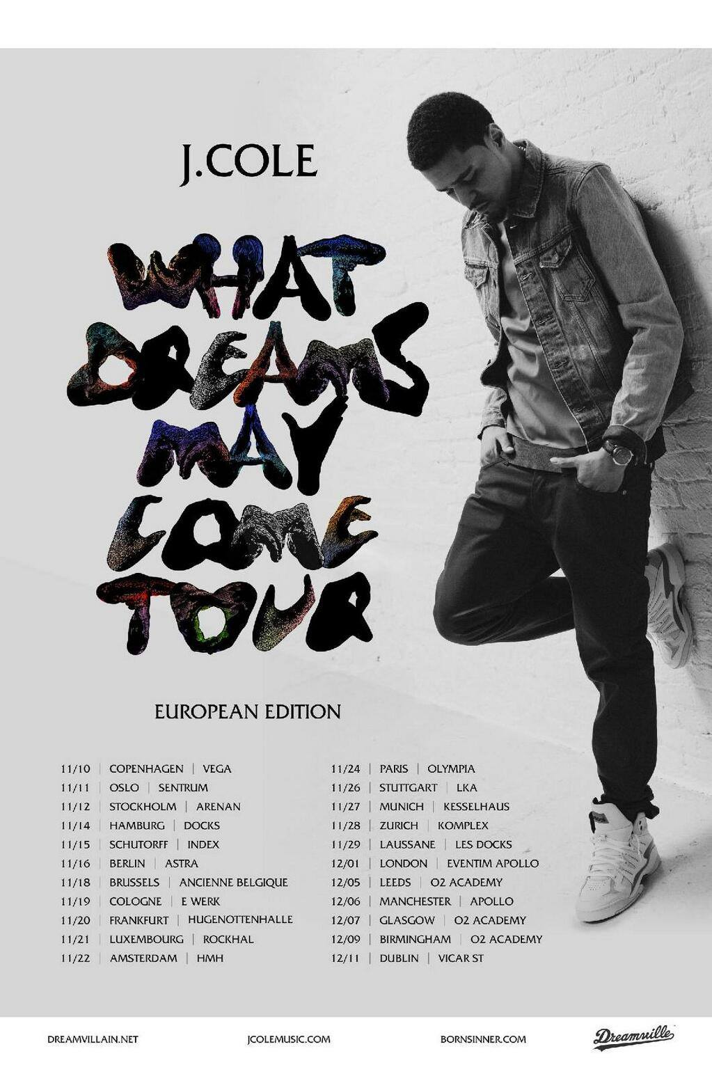 What Dreams May Come Tour Europe