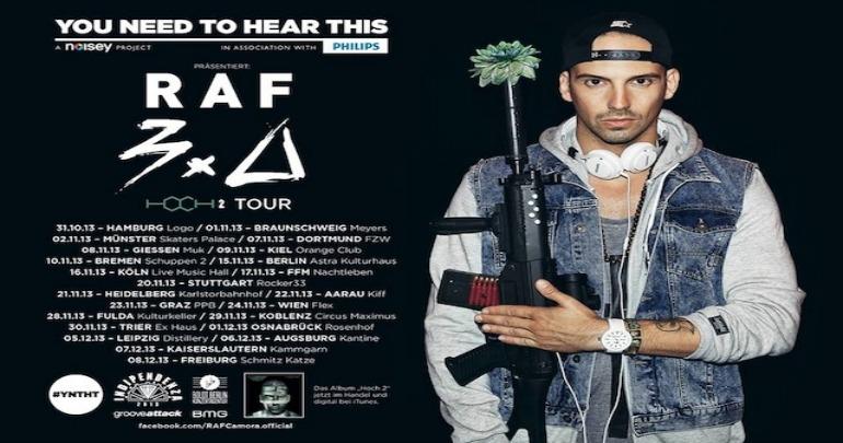 YNTHT presents: RAF 3.0 Hoch 2 Tour