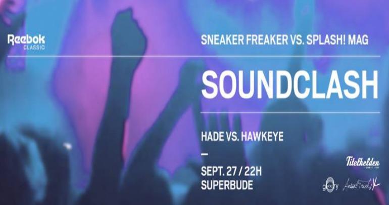 Sneaker Freaker x splash! Mag Soundclash Header