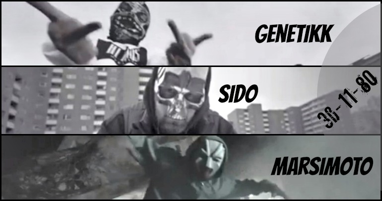 [Video] Sido ft. Genetikk & Marsimoto – Maskerade