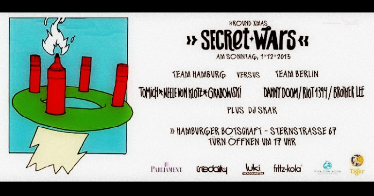 [Event] Secret Wars Hamburg – Round XMas