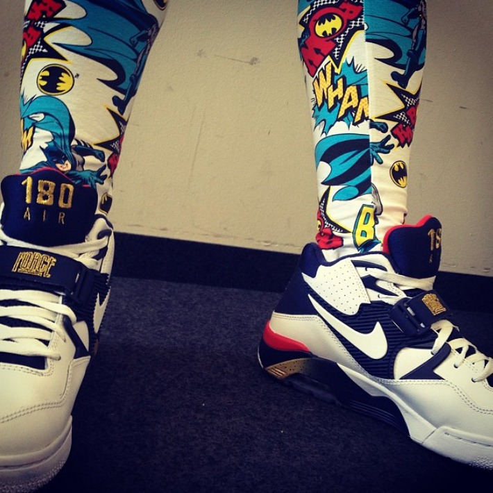 "Batman Leggins | x | Nike Air Force 180 ""USA"""