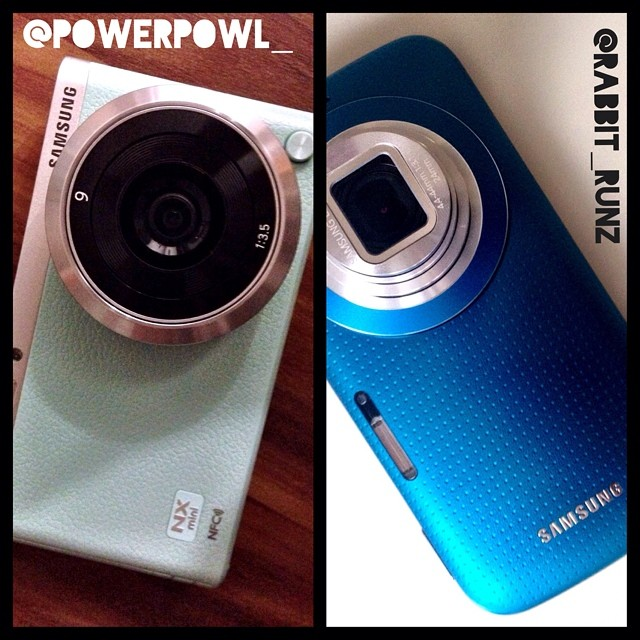 Samsung NX Mini VS. Samsung GALAXY K zoom