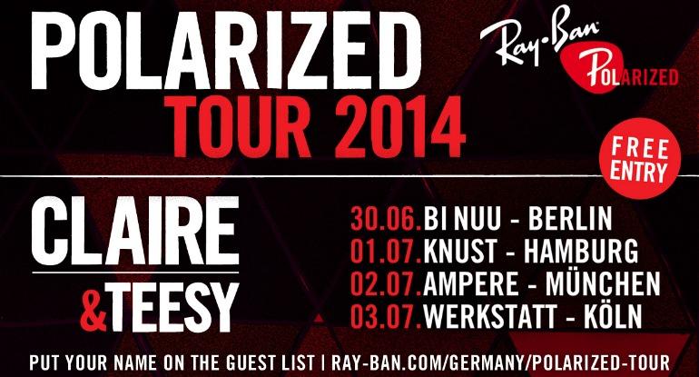 Ray_Ban Polarized Tour 2014_Key Visual_tr
