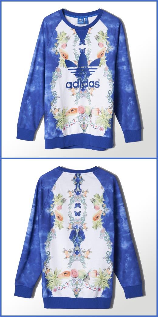 adidas_Indigo Sweatshirt