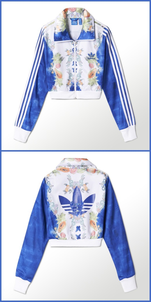 adidas_Indigo Cropped Firebird Trainingsjacke