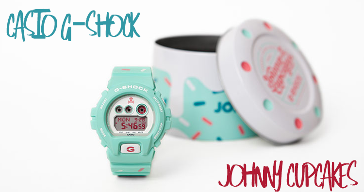 G-Shock x Johnny Cupcakes Collabo