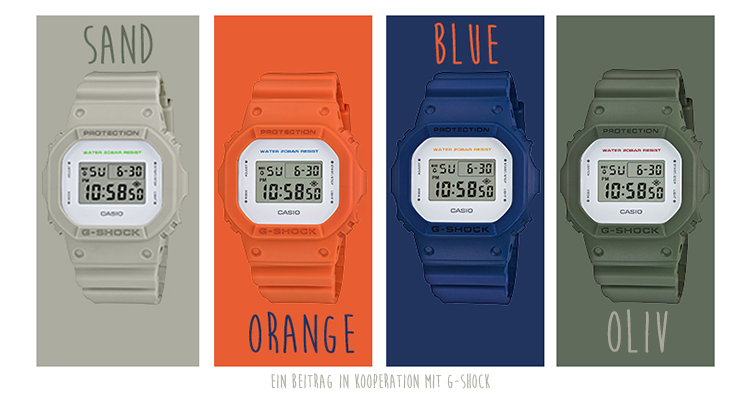 G-SHOCK Clean Style Series