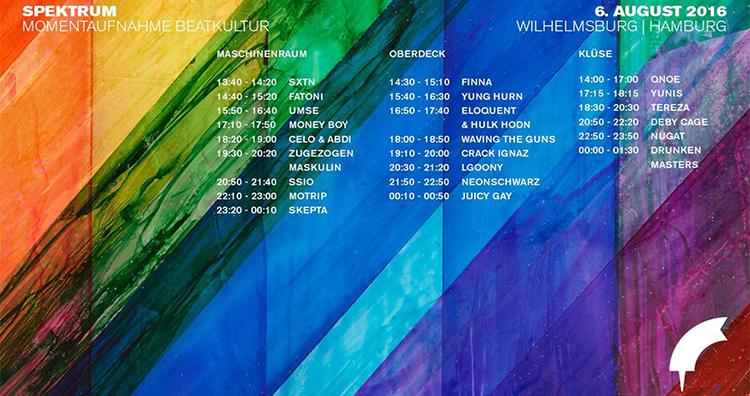 SPEKTRUM Festival 2016 // Hamburg Callin