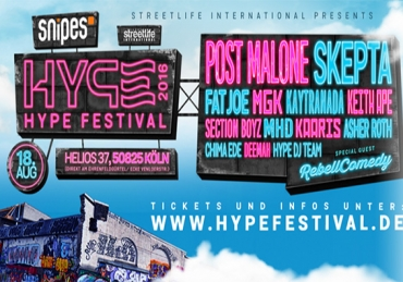 HYPE Festival 2016 // Cool Cologne Callin'