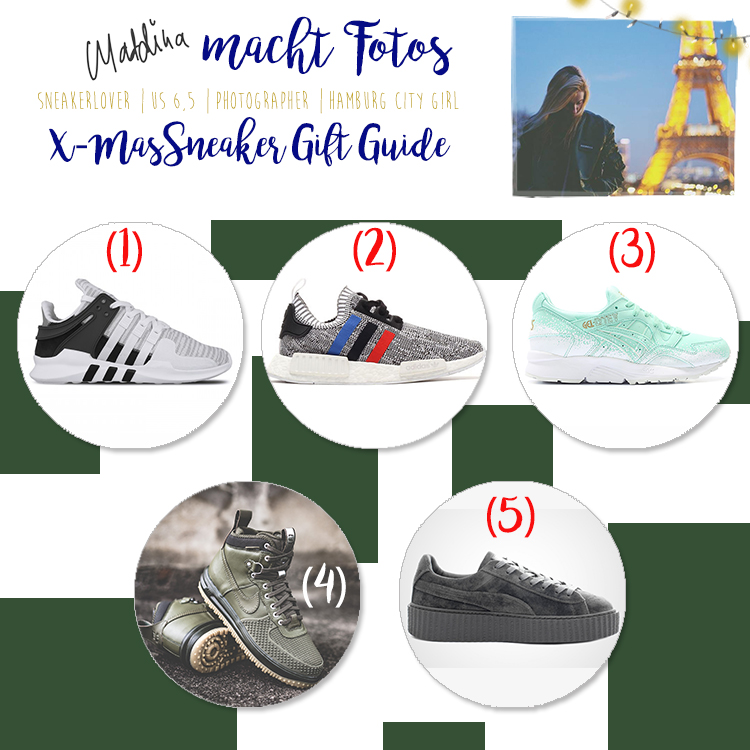 Maddina Macht Fotos - Sneakerhead X-Mas Gift Guide