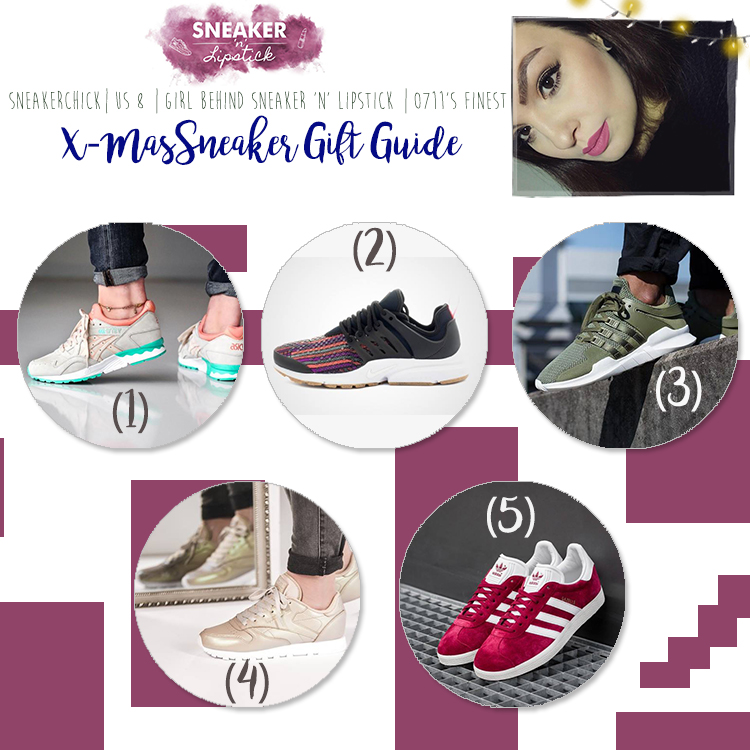 Gina - Sneakerhead X-Mas Gift Guide