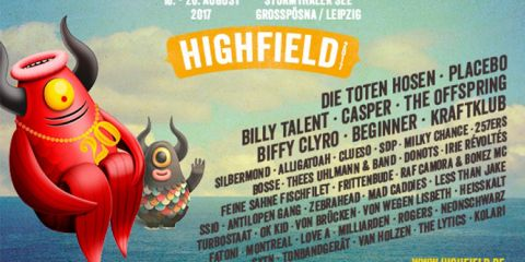 Highfield 2017 Line Up